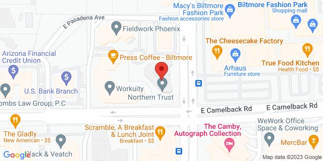 Citibank Phoenix 2398 E CAMELBACK 85016 on Map