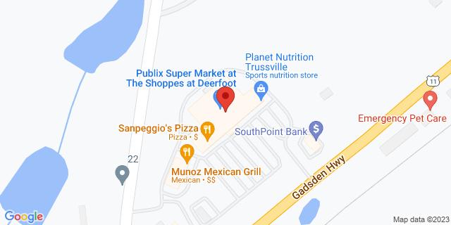 Citibank Trussville 7272 Gadsden Hwy 35173 on Map