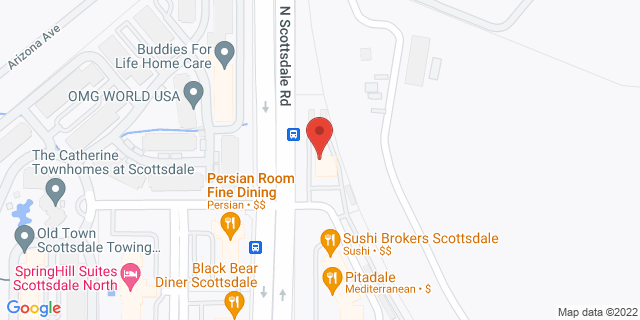 Citibank Scottsdale 17045 N SCOTTSDALE RD 85255 on Map