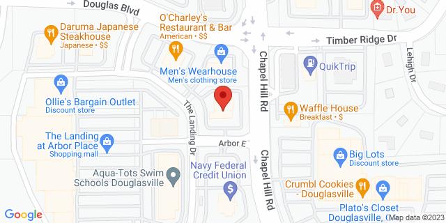 Metro Bank Douglasville 9340 The Landing Dr 30135 on Map