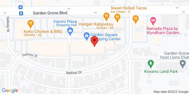 Metro Bank Garden Grove 9866 Garden Grove Blvd 92844 on Map