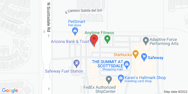 Citibank Scottsdale 32621 N SCOTTSDALE RD 85255 on Map
