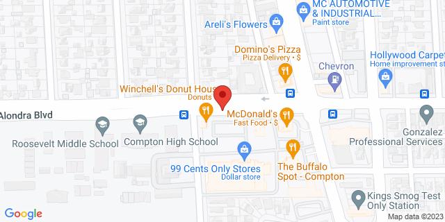 ACE Cash Express Compton 1330 E Alondra Blvd 90221 on Map
