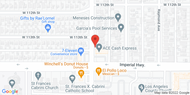 ACE Cash Express Los Angeles 11252 S Normandie Ave 90044 on Map