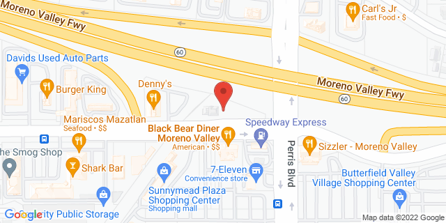 ACE Cash Express Moreno Valley 24966 Sunnymead Blvd 92553 on Map