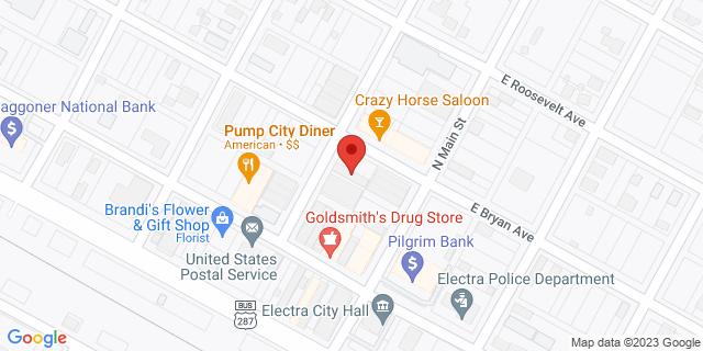 National Bank Electra 118 N Waggoner St 76360 on Map