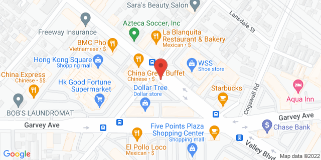 ACE Cash Express El Monte 11908 Valley Blvd 91732 on Map