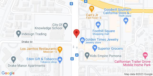 ACE Cash Express Pomona 3176 N Garey Ave 91767 on Map