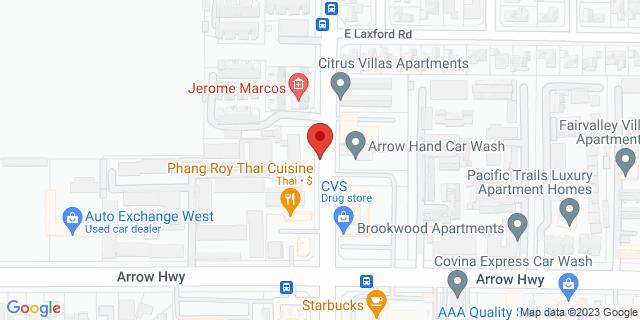 ACE Cash Express Azusa 891 S Citrus Ave 91702 on Map