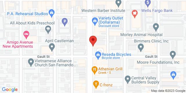 ACE Cash Express Reseda 7160 Reseda Blvd 91335 on Map