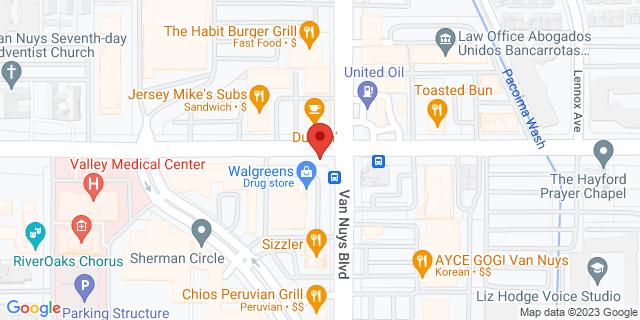 ACE Cash Express Van Nuys 14526 Sherman Way 91405 on Map