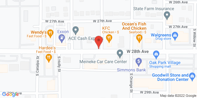 ACE Cash Express Pine Bluff 2811 W 28th Ave 71603 on Map