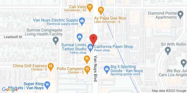 ACE Cash Express Van Nuys 7335 Van Nuys Blvd 91405 on Map