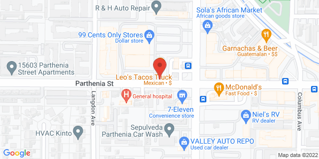 ACE Cash Express North Hills 15425 Parthenia St 91343 on Map
