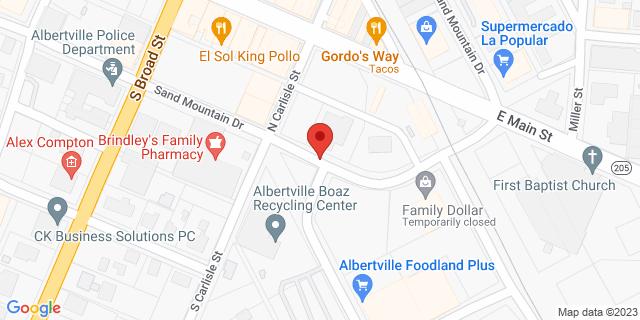 Citibank Albertville 313 Sand Mountain Drive East 35950 on Map