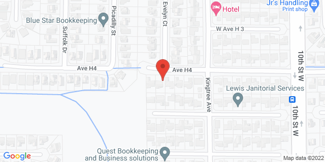 ACE Cash Express Lancaster 1821 W Avenue I 93534 on Map