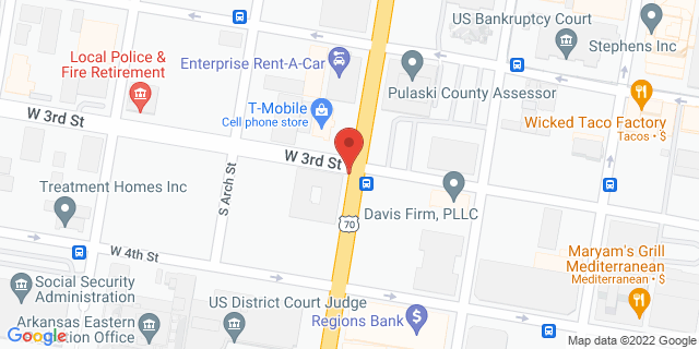 ACE Cash Express Little Rock 310 Broadway St 72201 on Map
