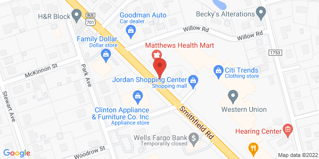 ACE Cash Express Clinton 322 Northeast Blvd 28328 on Map