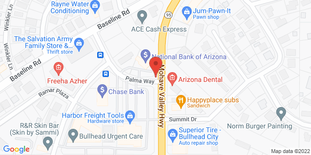 ACE Cash Express Bullhead City 1971 Highway 95 86442 on Map