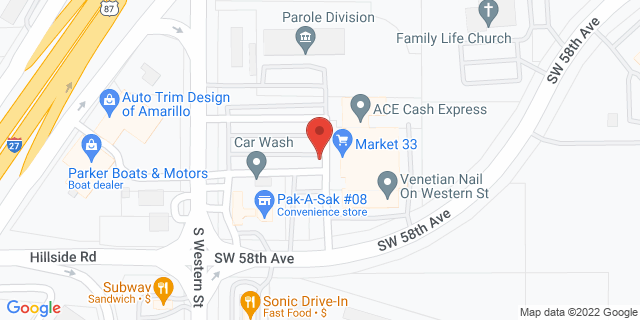 ACE Cash Express Amarillo 5811 S Western St 79110 on Map