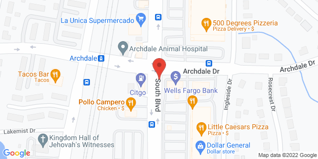ACE Cash Express Charlotte 6111 South Blvd 28217 on Map