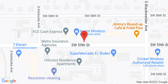 ACE Cash Express Oklahoma City 1425 SW 59th St 73119 on Map