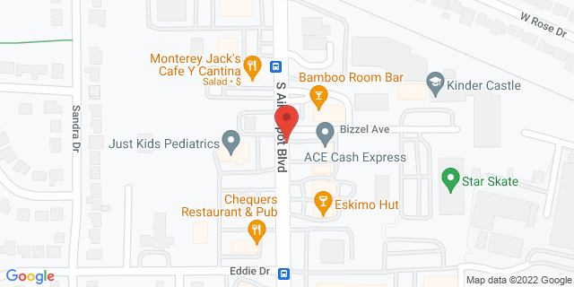 ACE Cash Express Midwest City 824 S Air Depot Blvd 73110 on Map