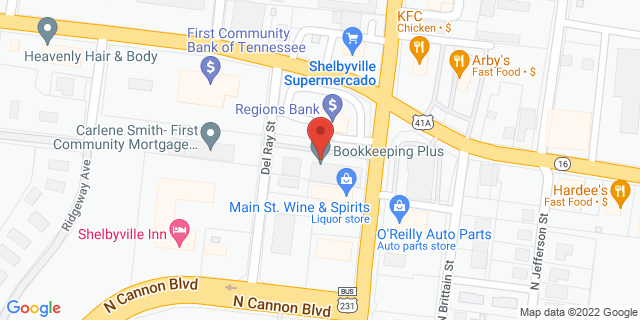 National Bank Shelbyville 635 N Main St, #C1 37160 on Map