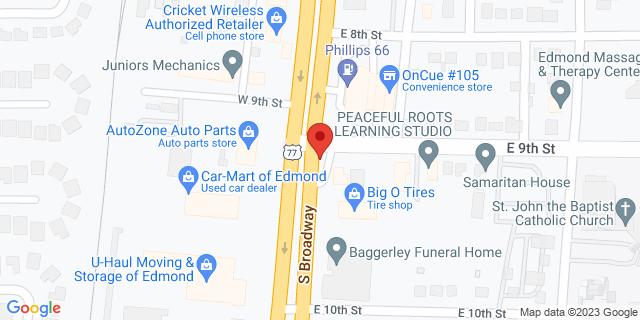 ACE Cash Express Edmond 900 S Broadway 73034 on Map