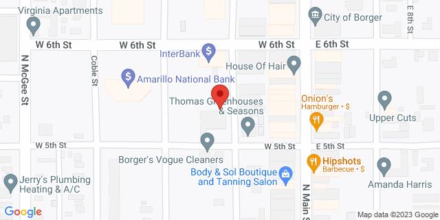 National Bank Borger 531 Deahl St 79007 on Map