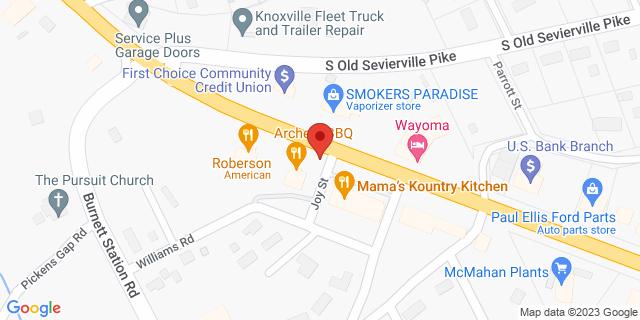 National Bank Seymour 10225 Chapman Hwy 37865 on Map