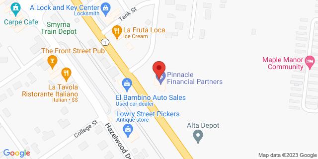 National Bank Smyrna 69 S Lowry St 37167 on Map