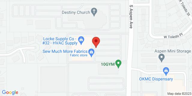 ACE Cash Express Broken Arrow 1750 S Aspen Ave 74012 on Map