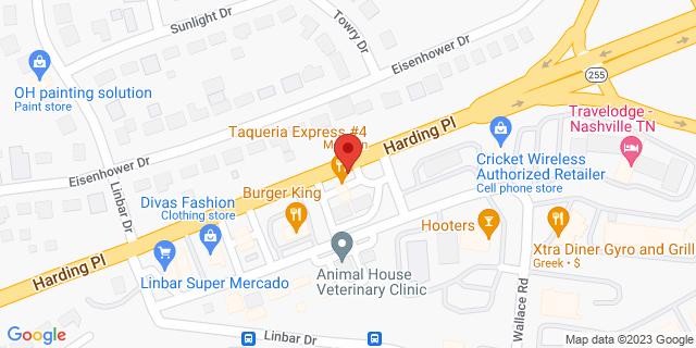 ACE Cash Express Nashville 367 Harding Pl 37211 on Map