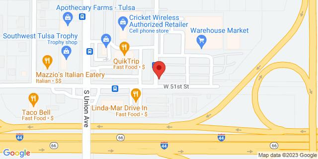 ACE Cash Express Tulsa 1507 W 51st St 74107 on Map