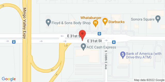 ACE Cash Express Tulsa 10664 E 31st St 74146 on Map