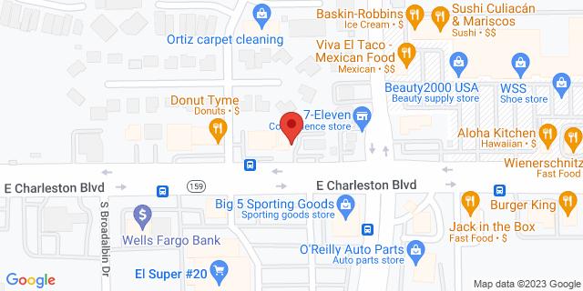 ACE Cash Express Las Vegas 4300 E Charleston Blvd 89104 on Map