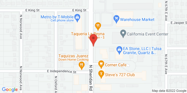 ACE Cash Express Tulsa 845 N Sheridan Rd 74115 on Map