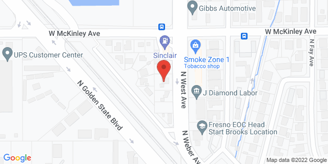 ACE Cash Express Fresno 1585 N West Ave 93728 on Map