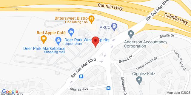 US Bank Aptos 783 Rio Del Mar Blvd, Ste 73 95003 on Map