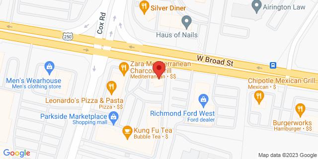 M&T Bank Glen Allen 10791 W Broad St 23060 on Map