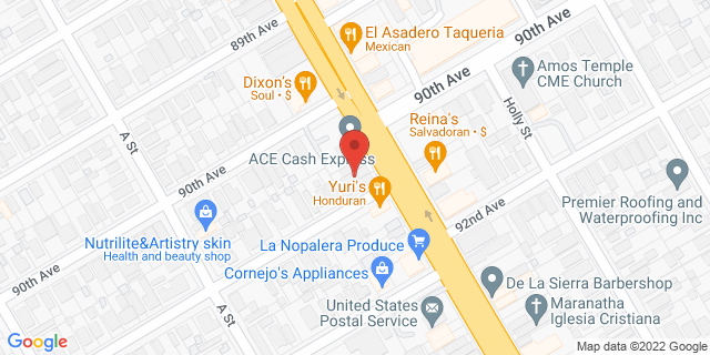 ACE Cash Express Oakland 9001 International Blvd 94603 on Map