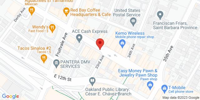 ACE Cash Express Oakland 3229 International Blvd 94601 on Map