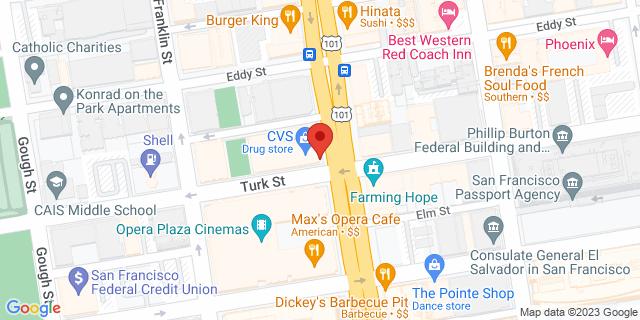 Metro Bank San Francisco 711 Van Ness Ave, #349 94102 on Map