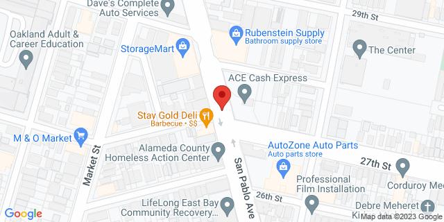 ACE Cash Express Oakland 2700 San Pablo Ave 94612 on Map