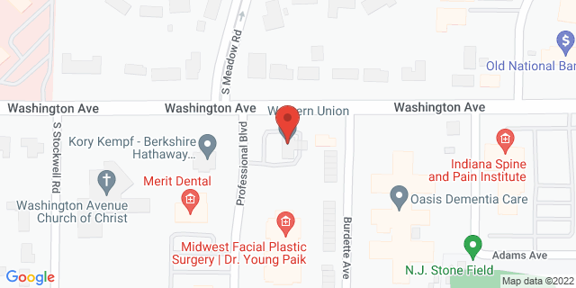 Fifth Third Bank Evansville 4209 WASHINGTON AVENUE 47714 on Map