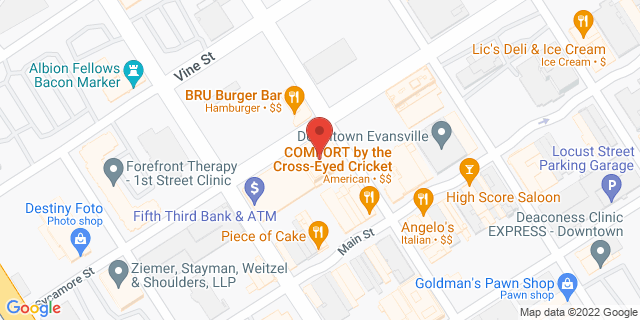 Fifth Third Bank Evansville 20 N.W. THIRD STREET 47708 on Map