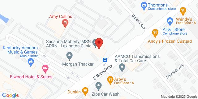 Fifth Third Bank Lexington 1221 S BROADWAY 40504 on Map