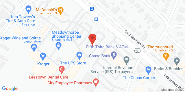 Fifth Third Bank Lexington 1580 LEESTOWN ROAD 40511 on Map