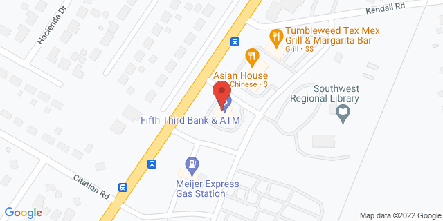 Fifth Third Bank Louisville 9711 DIXIE HWY 40272 on Map